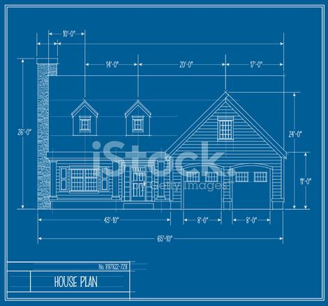 free house blueprints vector house blueprint front stock photos freeimages com