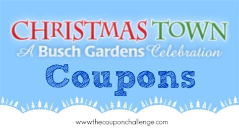 Town Busch Gardens Tickets by Busch Gardens Town Coupons