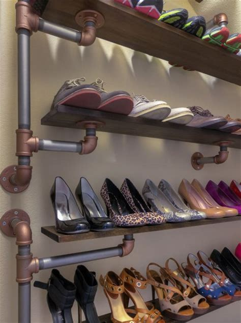diy shoe shelves 22 amazing ways to store your shoes pretty designs