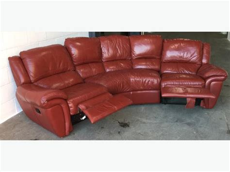 red leather recliner corner sofa 163 1500 dfs red leather recliner corner sofa we deliver