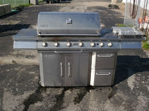 bbq grill jenn air propane grill side burner rotisserie high end outdoor n r ebay