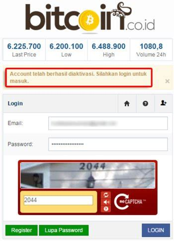 bitcoin daftar how to register and verify bitcoin indonesia account at