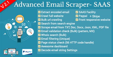 Advanced Email Search Advanced Email Scraper V2 1 Saas Pack Codeholder Net