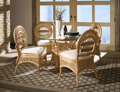 Wicker Dining Room Furniture Rattan Dining Room Furniture Right Choice For Comfort