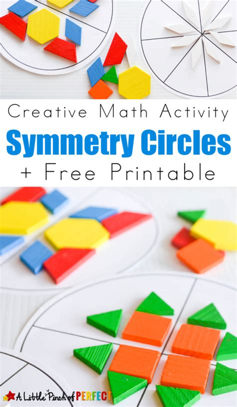 pattern blocks activities middle school free symmetry printables and activity free homeschool