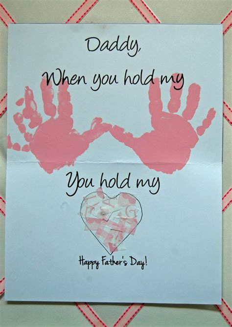 fathers day crafts 40 diy s day card ideas and tutorials for