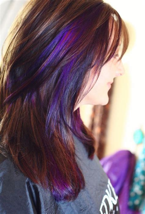 color or streaks in jlos hair can you make it through these 20 purple hair inspiration