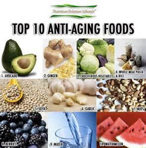 top 10 anti aging foods health anti aging wellness