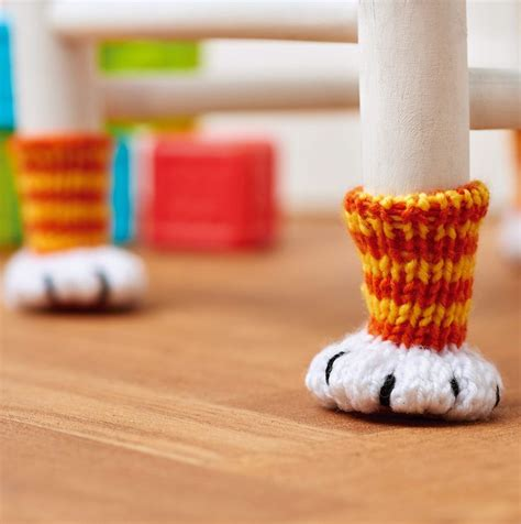 chair socks knitting pattern 25 best ideas about crochet furniture on