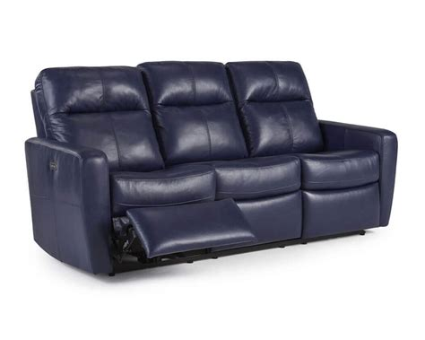 blue reclining sofa and loveseat blue leather reclining sofa shae joplin blue leather