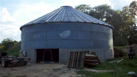 grain bin house building forum at permies