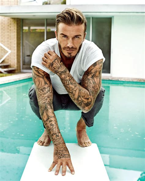david beckham sleeve tattoo sexiest alive 2015 photographer marc hom david