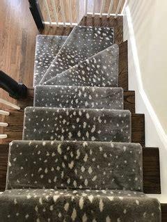 stair runner serge  bind