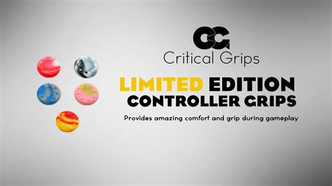 Grey Ltd Barracuda Grips Best Quality 1 1 Replica critical grips limited edition controller grips critical grips tictail