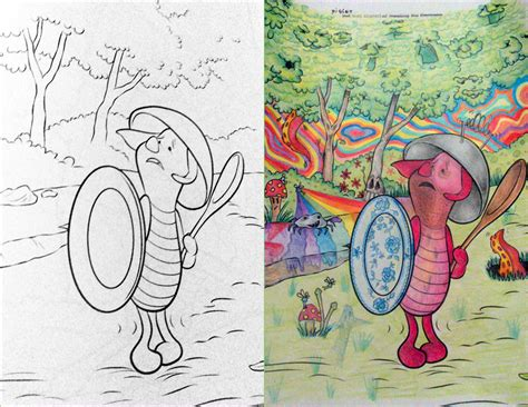 corrupted coloring books 28 awful corruptions in coloring books that will give your