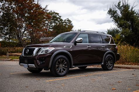 nissan armada reviews review 2017 nissan armada platinum canadian auto review