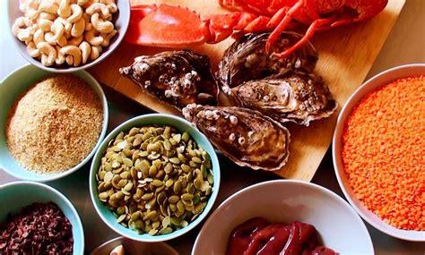 que alimentos contienen zinc 15 alimentos ricos en zinc