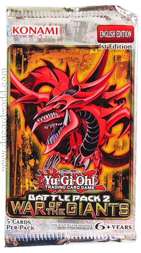 Yugioh Booster Battle Pack 2 War Of The Original konami yu gi oh battle pack 2 war of the giants booster
