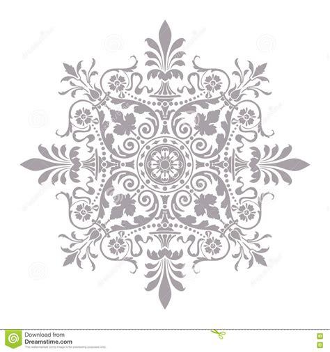 design bunga vintage vector decorative line art frame for design template