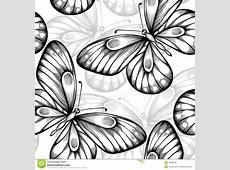 Beautiful Monochrome Black And White Seamless Background ... Tribal Print Pattern Black And White