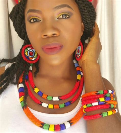 necklaces on traditional nigerian attires 222 best images about zulu on pinterest traditional