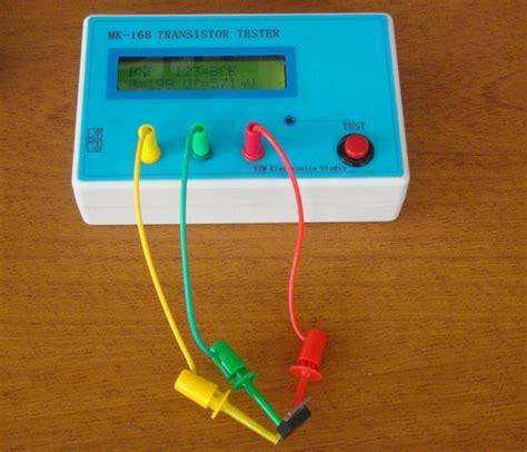 npn transistor multimeter mk 168 transistor tester rlc esr meter tester triode capacitance pnp npn ebay