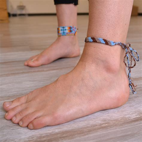 Woven Friendship Anklet   Jewelry   Handmade Guatemalan Imports
