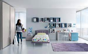 Cool Shelves For Bedrooms by Cool Teenage Bedroom Designs With Wall Shelves And