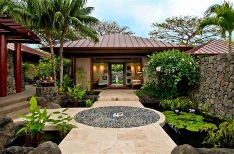 Interior Design Hawaiian Style Hokulia Resort Residence Tropical Exterior Hawaii