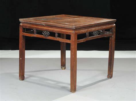 tavoli cinesi tavolo quadrato in legno massello cina xx secolo arte