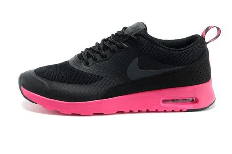 Sepatu Nike Air One Black Pink Womens Style Sporty Trendy nike air max thea print fashion trainers womens black pink uk store