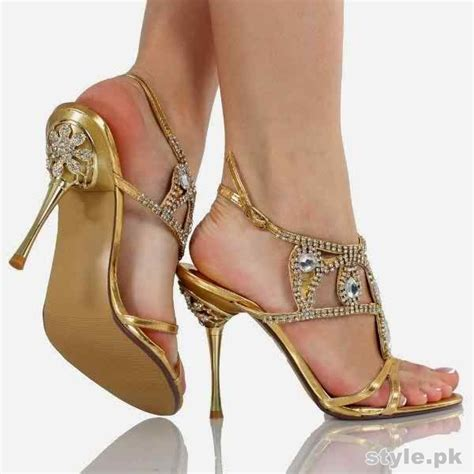 bridal high heel shoes 2015 in pakistan
