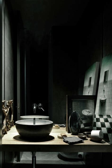 home decor trends  gothic bathroom
