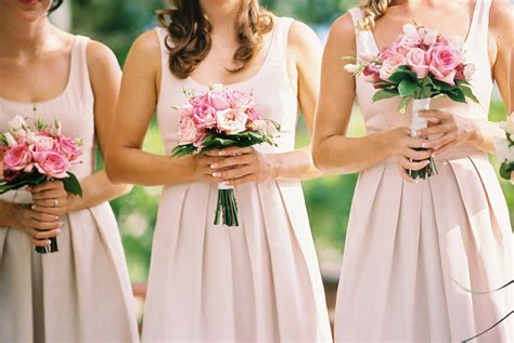 pink bridesmaid dresses pink bridesmaid dresses