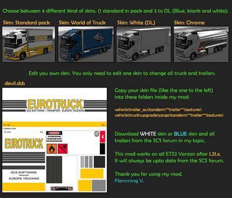 volvo v79 bdf tandem truck pack v79