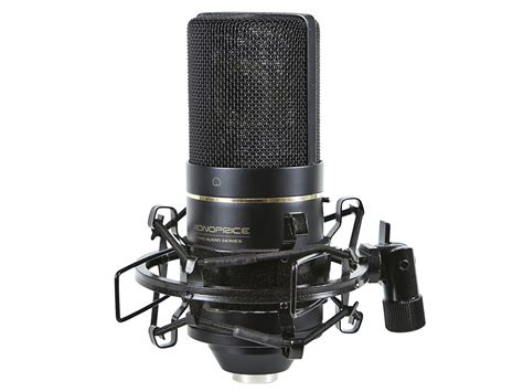 condenser microphone large diaphragm condenser microphone monoprice