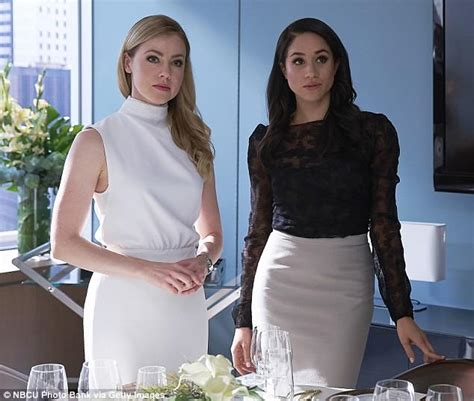 amanda schull on suits meghan markle s co star amanda schull says prince harry