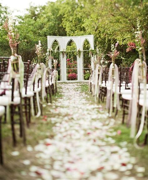 unique backyard wedding ideas unique outdoor wedding ceremony ideas