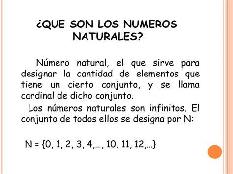 imagenes con numeros naturales numeros naturales