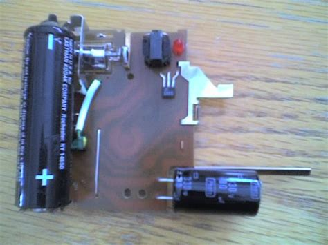 diy capacitor taser how to build a taser for free