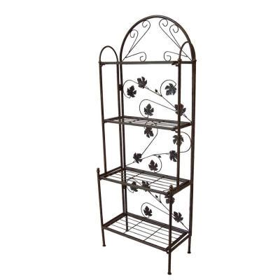 Bakers Rack Home Depot by Oakland Living Sun Valley Baker Rack 5306 Ab The Home Depot