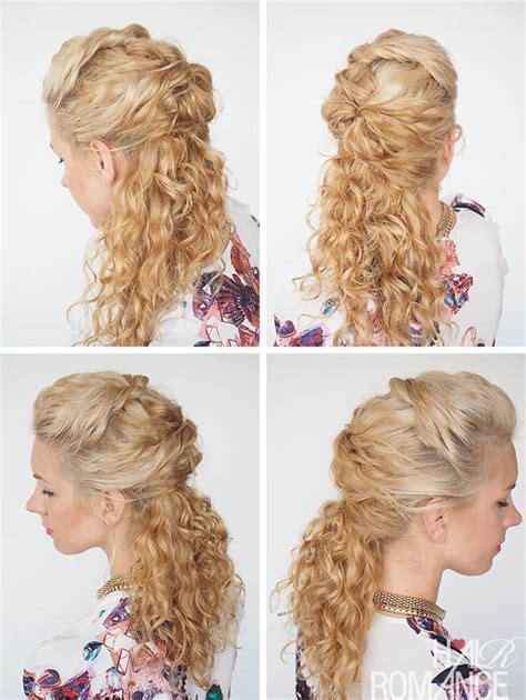30 curly hairstyles in 30 days day 6 hair romance 30 curly hairstyles in 30 days day 7 hair romance