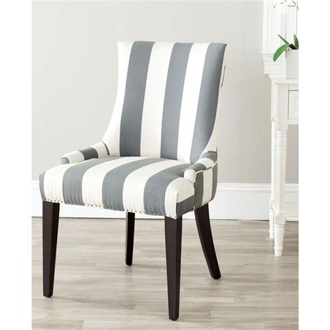Gray Dining Chair Safavieh Becca Grey Bone Linen Blend Dining Chair Mcr4502h The Home Depot