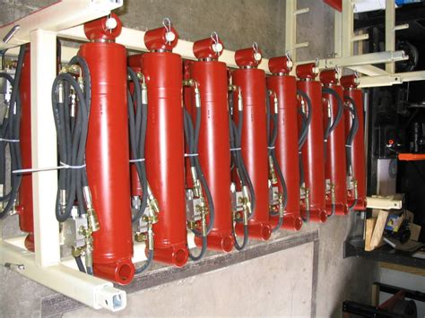 Hydraulic Cylinder Storage Rack by Hydraulic Products International Fluid Power Inc