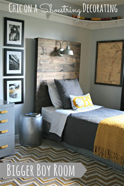 Chic On A Shoestring Decorating Bigger Boy Room Reveal | chic on a shoestring decorating bigger boy room reveal