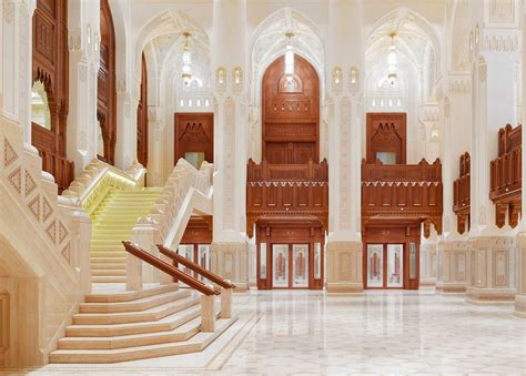 Circulation Patterns Architecture by Integrated Design Royal Opera House Muscat Oman Watg