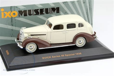 1936 Buick Series 40 Special Image Photo 29 Of 29 Buick Series 40 Special Year 1936 Beige Brown Museum Mus059 Ean 4895102321018