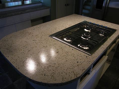 Recycled Glass Countertops Houston by Concrete Countertops Sted Artistry Houston