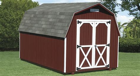 Barn Shed Amish Mini Barn Style Backyard Storage Sheds For Sale
