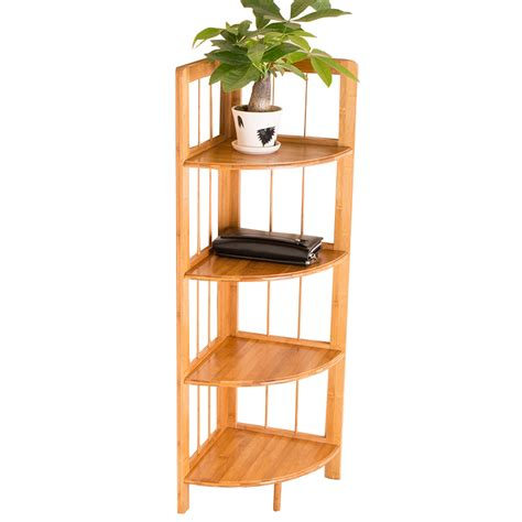 Bamboo Corner Shelf by Partition Board Picture More Detailed Picture About